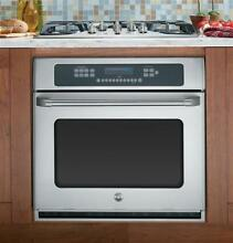 GE Cafe Series CT918STSS 30  Single Electric Wall Oven
