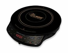 NuWave PIC Gold 1500W Portable Induction Cooktop Countertop Burner  Gold