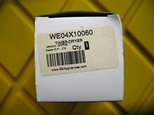 WE04X10060 GENUINE GE FACTORY PART DRYER TIMER  BRAND NEW FAST SHIPPING