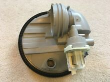 Whirlpool Kitchenaid dishwasher sump housing assembly and drain pump