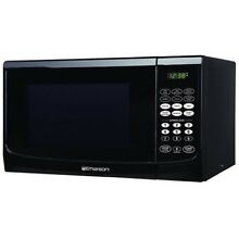 NEW Emerson Radio MW9255B Microwave Oven  9cuft Black