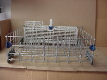 Whirlpool Dishwasher Lower Rack w  Silverware Basket Part   W10380384 W10629541