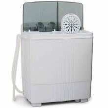 Portable Washing Machine Laundry  Washer Spin   Dryer Mini Compact Twin Tub 11LB
