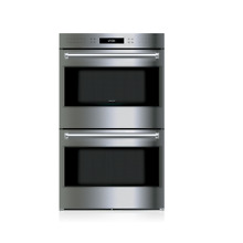 Wolf E Series DO30PE S PH 30  inch Double Electric Wall Oven in Stainless Steel