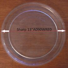 13  Sharp Microwave Glass Tray Turntable Carousel NTNT A090WRE0 9 3 4 Roller