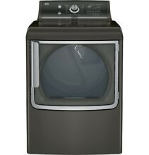 GE GTD86ESPJMC 7 8 cu  ft  Electric Dryer w  Stainless Steel Drum and Steam