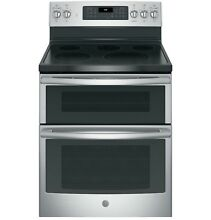 GE  JB860SJSS 30  Free Standing Electric Double Oven Convection Range