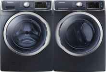 Samsung Front Load Washer   Electric Dryer Set WF45H6300AG  DV45H6300EG Onyx