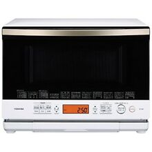 Toshiba heating steam microwave oven 26L Stone dome Grand white ER ND8 W AC100V