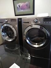 WM4070HWA Brand New Washer Dryer Set  with stand including drawers at the