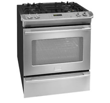 Frigidaire Professional FPDS3085PF 30  Slide In Dual Fuel Range Stainless NIB