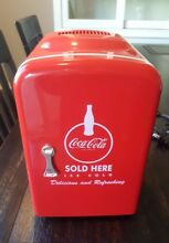 Coca Cola Koolatron Compact RETRO Mini Refrigerator Red