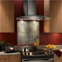 Broan Elite EW 56 series 30in glass range hoods