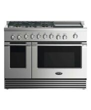 DCS RDV2486GDL 48  Stainless Steel Dual Fuel Range with Convection Oven