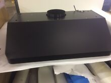 AKDY 36  Ducted Under Cabinet Range Hood Black Stainless Steel  RH0350  49