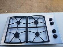NICE 30 INCH DACOR STAINLESS STEEL GAS COOKTOP WITH 4 BURNERS