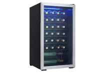 Freestanding Wine Cooler 36 Bottle Stainless Steel Small Appliances Kitchen
