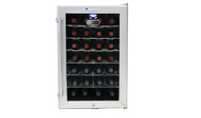 Whynter WC28S SNO 28 Bottle Wine Cooler  Platinum with Lock