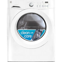 Kenmore Kenmore 41122 3 9 cu  ft  Front Load Washer   White