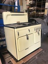 Antique Chambers Yellow Stove 1950 s
