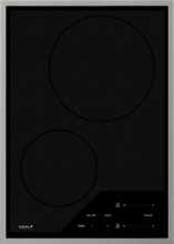 Wolf 15  Inch Stainless Steel Electric Transitional Induction Cooktop CI152TF S