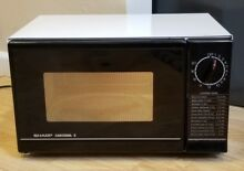 VTG Sharp Carousel II Microwave Oven Works Clean