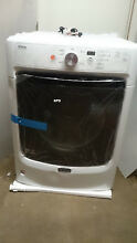 New Genuine Maytag MGD3500FW  27   27 Inch  7 4 cu  ft  Front Load Gas Dryer