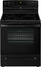Kenmore 96189 5 4 cu ft 30  inch Electric Range Oven Convection BLACK