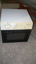 Sharp Half Pint R 1M50 Carousel II Compact Microwave Oven RV Boat Dorm Apartment