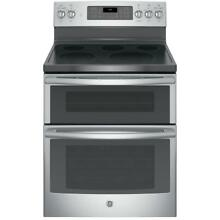 GE JB860SJSS 30  Free standing Electric Double Oven Convection Range   NIB