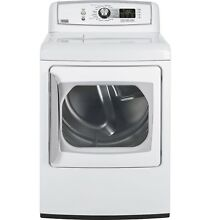 GE PTDN800EMWW Profile Harmony  7 3 Cu  Ft  Stainless Steel Electric Dryer