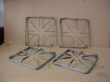 Hotpoint Range Burner Grate very Stained Lot of 4 Part   WB31K10013