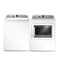 Fisher   Paykel Top Load Washer and Electric Dryer Set WL4227J1 DE7027P2