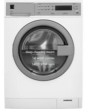 Kenmore Kenmore 41942 2 4 cu  ft  Compact Front Load Washer w  Steam Technology