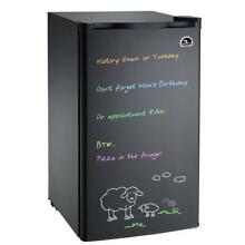 IGLOO FR326M BLACK 3 cu  ft  Eraser Board Mini Refrigerator  Black