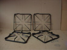 Hotpoint Range Burner Grate w  Stains Wear Lot of 4 Part   WB31K10012