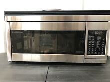 Sharp R1874T  1 1 Cubic Feet  850 Watt  OTR Convection Stainless Steel Microwave