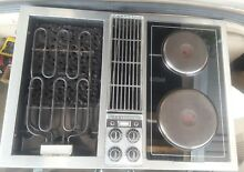 Jenn Air downdraft cooktop c221