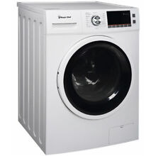 Magic Chef 2 0 cu ft Combo Washer and Dryer  White