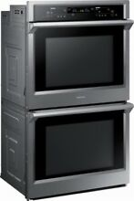 Samsung double wall oven  30  Stainless steel  never used  box just opened