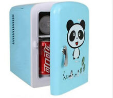 New Portable Refrigerator 4 Liter Mini Cooler   Warmer  Cosmetic Fridge Blue