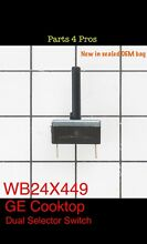 New OEM GE Cooktop Dual Selector Switch WB24X449