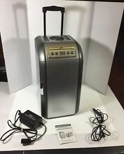 Thermoelectric Portable Silver Electric Cooler   Warmer Model MR 318 18L Tested