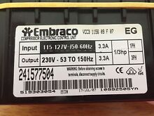 Embraco Refrigerator Inverter Electronic Control VCC3 1156 09 F 07