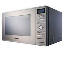 Panasonic Consumer NN SD681S 1 2 Cu  Ft  Built In Countertop Microwave Oven