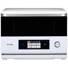TOSHIBA ER ND200 W Heating steam Microwave Oven Gran White Fast Shipp Japan EMS