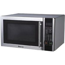 NEW Magic Chef MCM1110ST Microwave Oven 1 1 Stainless