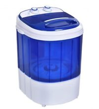 Mini Portable Washer Washing Machine Easy Operation Timer Control  White New