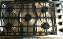 DCS by Fisher   Paykel 5 Burner 36  Gas Cook Top set up for LP