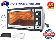 Modern Style Beautiful Very Large Convection Rotisserie BBQ Roaster Bench Oven